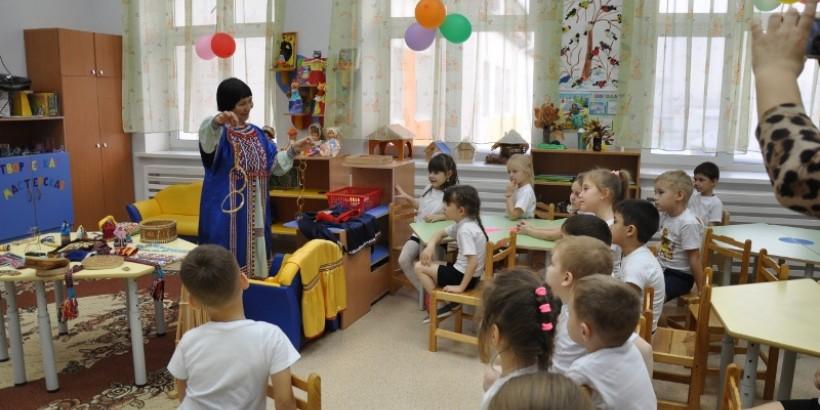 Национальная редакция в гостях у детского сада «Брусничка» в г. Ханты-Мансийске