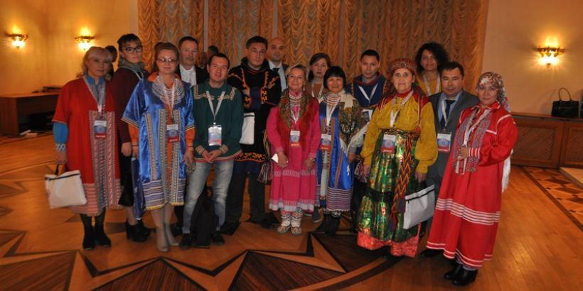Участие делегации Югры на VI съезде финно-угорских народов