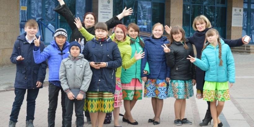 Юные корреспонденты в столице Югры