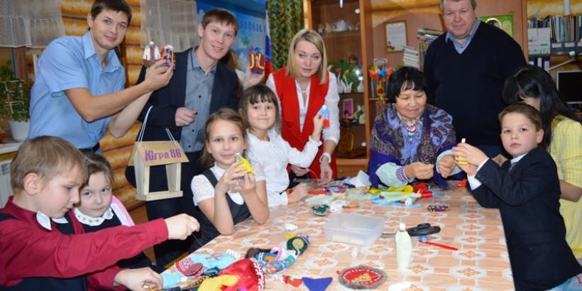 Журналисты  национальных газет посетили «Центр помощи детям «Северяночка» в г. Нягани