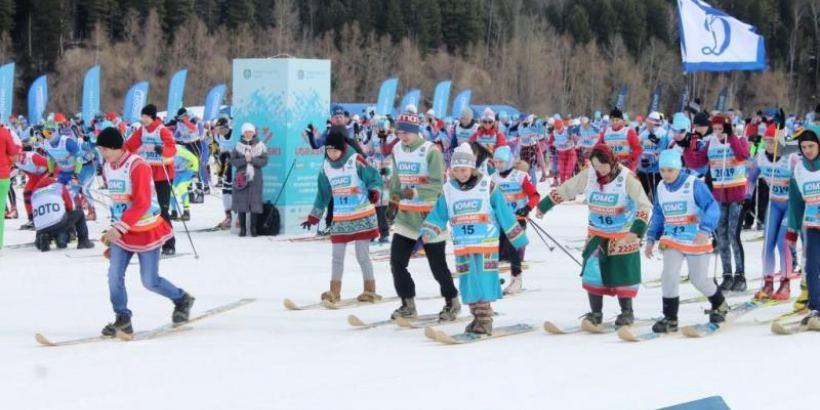 Состоялся VII Югорский лыжный марафон
