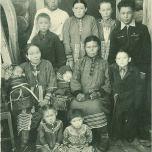 Тимофей Андреевич па Михаил Андреевич Новьюховӊӑн семьяйӊӑн 1955-мит тӑӆн. Кўтӆуп Тэкн